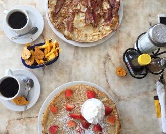 Melhor café da Ilha: Linda's pancakes