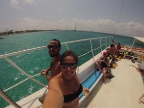 Brunch em um passeio de barco MARAVILHOSOO