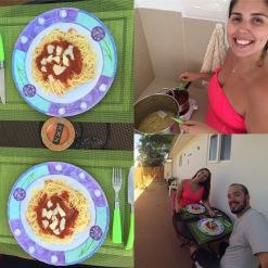 Macarrão sucesso que comemos alguns dias..rs..